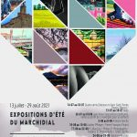 Affiche commune Expos d'été Champeix